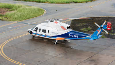 B-7308 - Sikorsky S-76C+ - China Southern Airlines