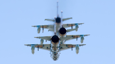 5834 - Mikoyan-Gurevich MiG-21MF Lancer C - Romania - Air Force