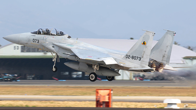 02-8073 - McDonnell Douglas F-15DJ Eagle - Japan - Air Self Defence Force (JASDF)
