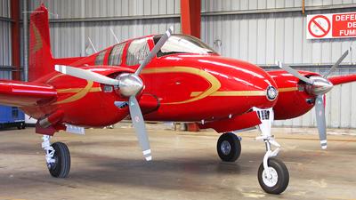 A picture of N3682B - Beech B50 Twin Bonanza - [CH103] - © JM Rotor 54