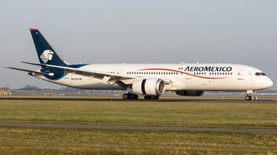 N438AM - Boeing 787-9 Dreamliner - Aeroméxico