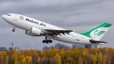 A picture of EPMMJ - Airbus A310304 - Mahan Air - © KomradAlexey