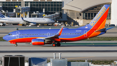 N240WN - Boeing 737-7H4 - Southwest Airlines