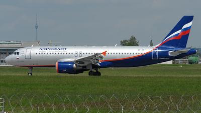 VP-BKY - Airbus A320-214 - Aeroflot