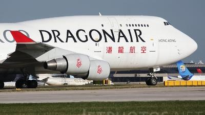 B-KAI - Boeing 747-412(BCF) - Dragonair Cargo