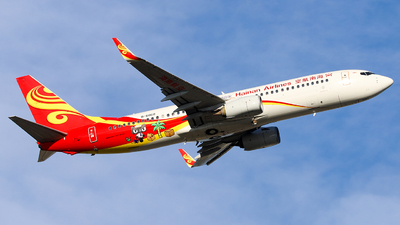 B-6060 - Boeing 737-84P - Hainan Airlines