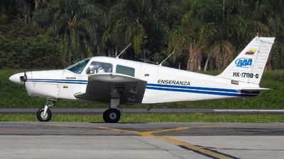 HK-1798-G - Piper PA-28-140 Cherokee Cruiser - Academia Antioqueña de Aviación (AAA)