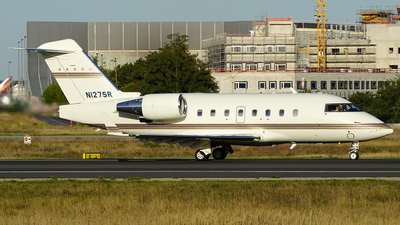 N127SR - Bombardier CL-600-2B16 Challenger 604 - Private