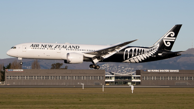 A picture of ZKNZF - Boeing 7879 Dreamliner - Air New Zealand - © Cameron Matthews