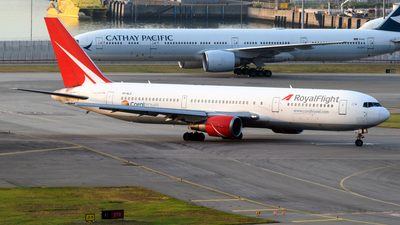 A picture of VPBLG - Boeing 7673Q8(ER) - Royal Flight - © Alvin Ho - AHKGAP