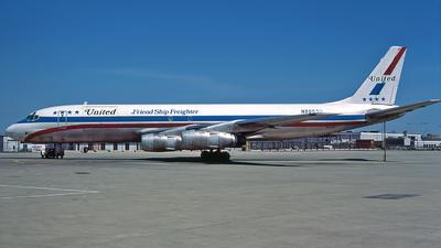 N8053U - Douglas DC-8-54(F) - United Airlines