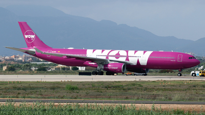 EC-MIN - Airbus A330-343 - WOW Air