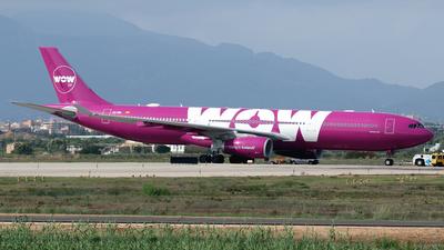A picture of ECMIN - Airbus A330343 - [1607] - © Javier Rodriguez - Amics de Son Sant Joan