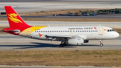B-6415 - Airbus A319-133 - Capital Airlines