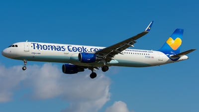 G-TCDB - Airbus A321-211 - Thomas Cook Airlines
