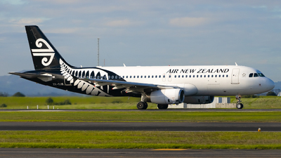 A picture of ZKOJS - Airbus A320232 - Air New Zealand - © Cameron Matthews