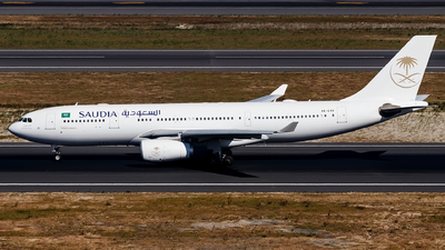 A6-EYP - Airbus A330-243 - Saudi Arabian Airlines (Etihad Airways)