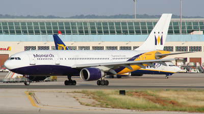 G-MONR - Airbus A300B4-605R - Monarch Airlines