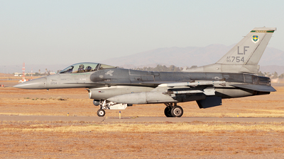 90-0754 - General Dynamics F-16CM Fighting Falcon - United States - US Air Force (USAF)