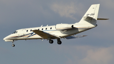 SP-OSA - Cessna 680 Citation Sovereign - Private