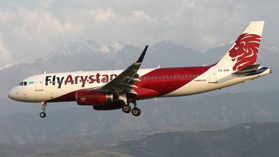 P4-KBB - Airbus A320-232 - Air Astana