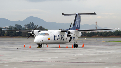 HK-4491 - Bombardier Dash 8-Q201 - LAN Colombia (Aires Colombia)