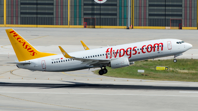 A picture of TCCRF - Boeing 73782R - Pegasus Airlines - © Alp AKBOSTANCI