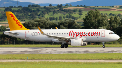 A picture of TCNBF - Airbus A320251N - Pegasus Airlines - © Justin Stöckel