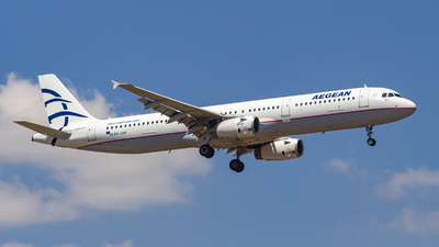 SX-DNF - Airbus A321-231 - Aegean Airlines