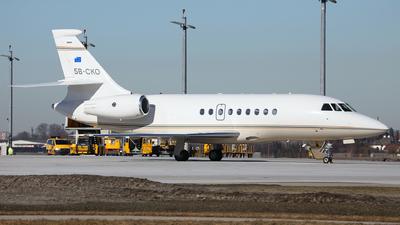 5B-CKO - Dassault Falcon 2000EX - Private