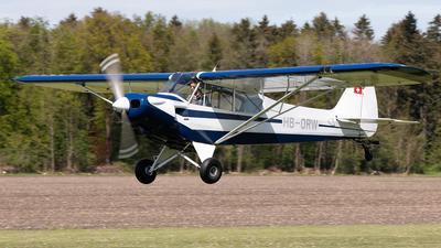 A picture of HBORW - Piper PA18180 Super Cub - [MDC1041] - © Alexandre Fazan