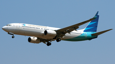 A picture of PKGNT - Boeing 7378U3 - Garuda Indonesia - © Bernard Effendy
