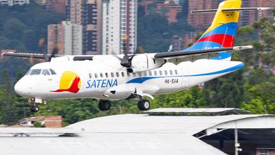 HK-5114 - ATR 42-600 - Satena