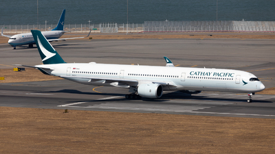 B-LXJ - Airbus A350-1041 - Cathay Pacific Airways