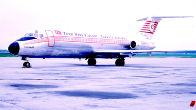 TC-JAA - McDonnell Douglas DC-9-15 - THY Turkish Airlines