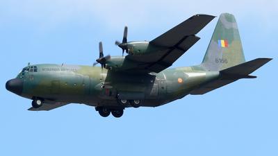 6166 - Lockheed C-130B Hercules - Romania - Air Force
