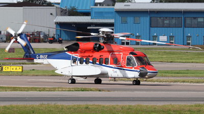 G-WNSE - Sikorsky S-92A Helibus - CHC Scotia Helicopters
