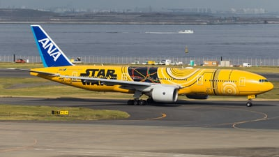 JA743A - Boeing 777-281(ER) - All Nippon Airways (ANA)