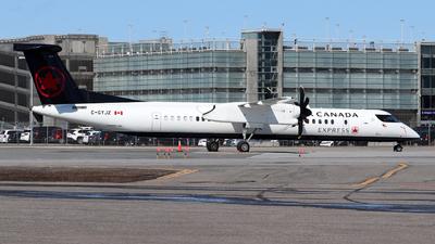 A picture of CGYJZ - De Havilland Canada Dash 8400 - Air Canada - © Guy Langlois