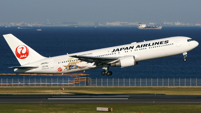 JA656J - Boeing 767-346(ER) - Japan Airlines (JAL)