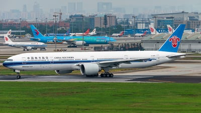 A picture of B2099 - Boeing 77731B(ER) - China Southern Airlines - © DJX666