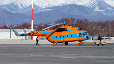 RF-28966 - Mil Mi-8MTV Hip - Russia - Ministry of Interior