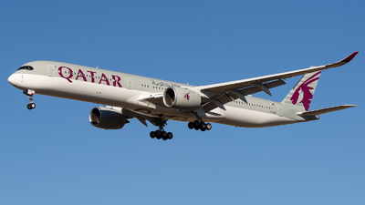 A7-ANQ - Airbus A350-1041 - Qatar Airways