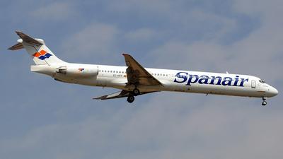 EC-HFP - McDonnell Douglas MD-82 - Spanair