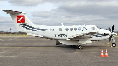 F-HFTV - Beechcraft 200 Super King Air - Aero Sotravia