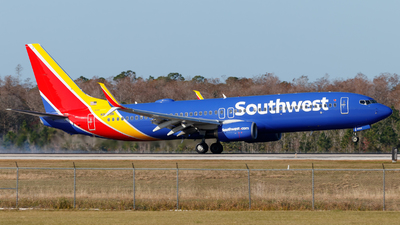 A picture of N8308K - Boeing 7378H4 - Southwest Airlines - © Oliver Richter