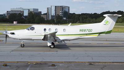 N687QD - Pilatus PC-12/47 - Private