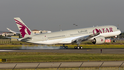 F-WZFJ - Airbus A350-941 - Qatar Airways