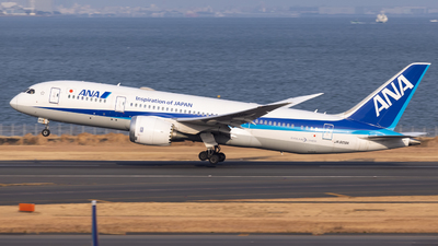 A picture of JA809A - Boeing 7878 Dreamliner - All Nippon Airways - © Resupe