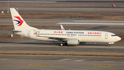 A picture of B5795 - Boeing 73789P - China Eastern Airlines - © Ken Chen